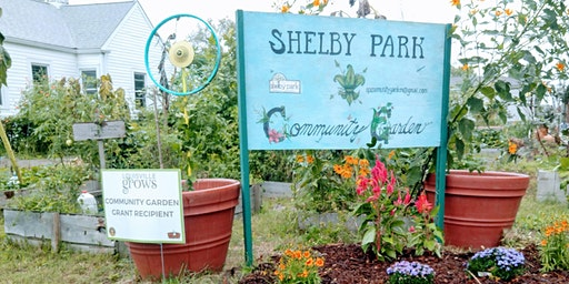 Shelby Park Renovation Expo & Open House: Community Garden Volunteers