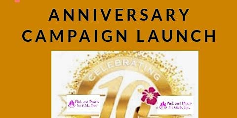 PP4G  Anniversary Campaign Launch