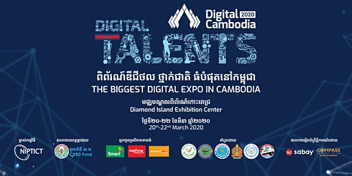 Digital Cambodia 2020 - The Biggest Digital Expo in Cambodia