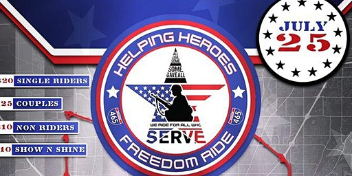 Copy of Helping Heroes of America's Freedom Ride