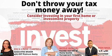 Real Estate Seminar-First-time Home Buyer/First-time Investor tickets