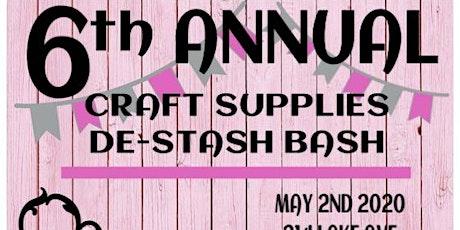 Craft Supplies De-stash Bash tickets