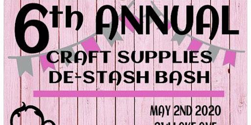 Craft Supplies De-stash Bash