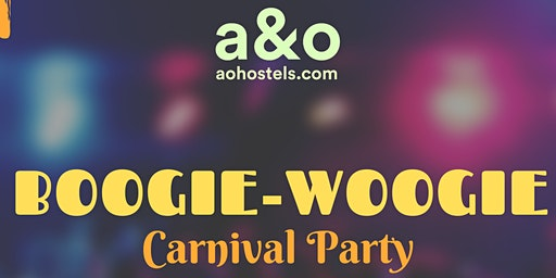 BOOGIE-WOOGIE Carnival Party