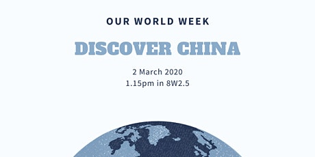 Discover China tickets