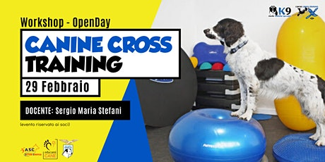 Workshop Introduttivo Canine Cross Training a Roma biglietti