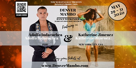 Denver Mambo Dance Weekender - CANCELLED! tickets