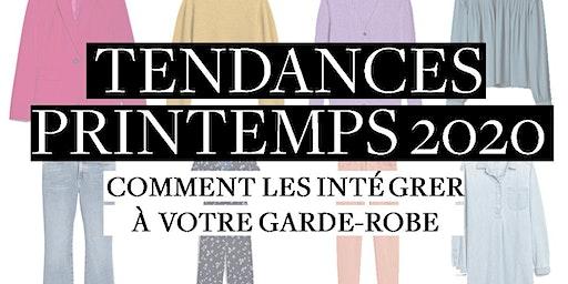 TENDANCES PRINTEMPS 2020