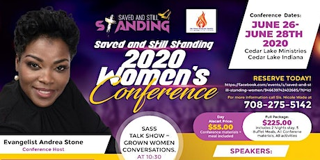 Saved and Still Standing Women's Conference 2020!!! tickets