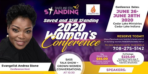 Saved and Still Standing Women's Conference 2020!!!