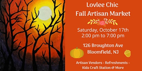 Lovlee Chic Fall Artisan Market tickets
