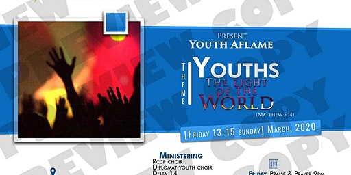 MARCH 2020 YOUTH AFLAME