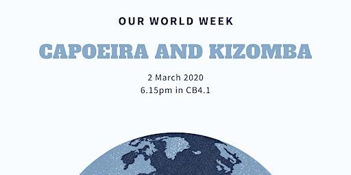 Kapoeira and Kizomba workshop