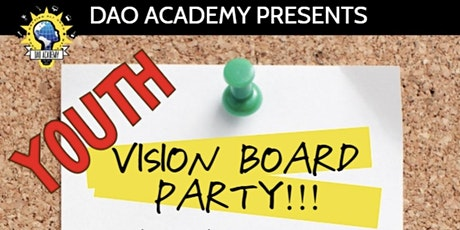 VISION WORKZ Youth Vision Board Party! tickets