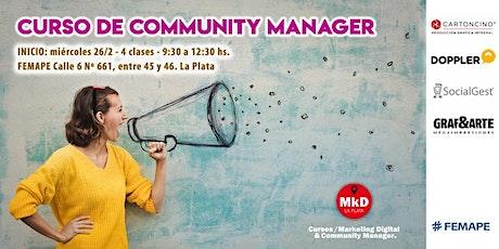 Curso de Community Manager (CM) entradas