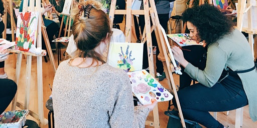 Mother's Day FloralPainting Workshop with Afternoon Tea
