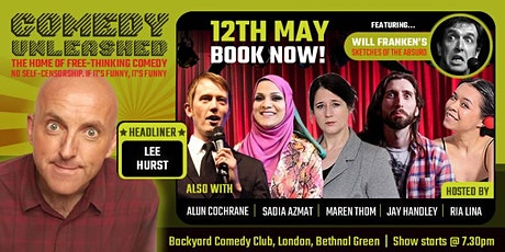 Lee Hurst at Comedy Unleashed tickets