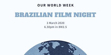Brazilian film night, Que Horas Ela Volta (The Second Mother) tickets