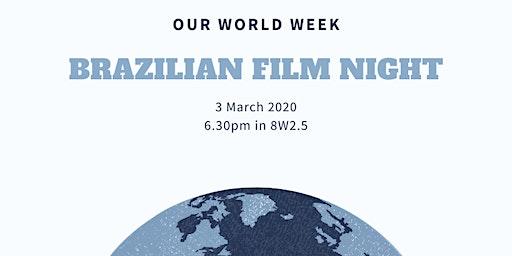 Brazilian film night, Que Horas Ela Volta (The Second Mother)