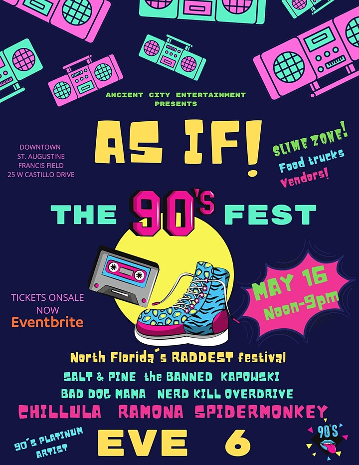 AS IF! North Florida 90's Fest image