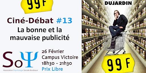 Ciné-débat #13 :  99 F de Jan Kounen avec Jean Dujardin