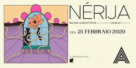 Nerija live at Alcazar biglietti