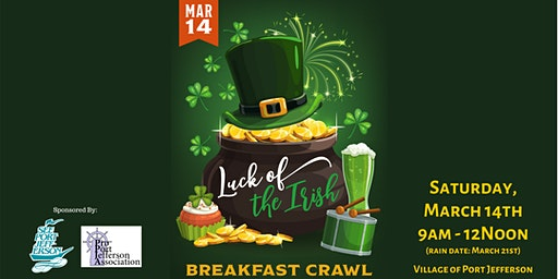 Port Jefferson 'Luck of the Irish' Breakfast Crawl