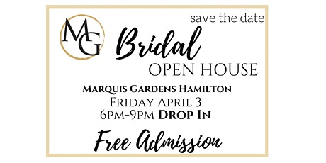 Bridal Open House tickets