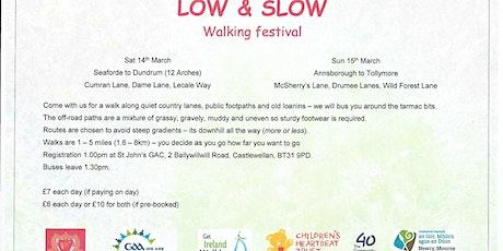 Low & Slow Walking Festival tickets