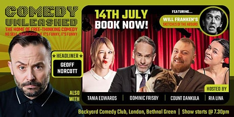 Geoff Norcott at Comedy Unleashed tickets