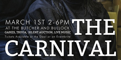 The Carnival - a fundraiser for 2 Paycheques Away.. tickets
