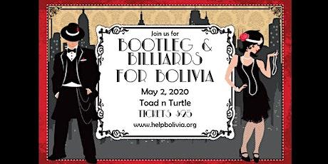 Bootleg & Billiards for Bolivia tickets