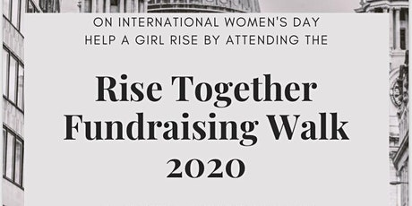 Rise Together Fundraising Walk 2020 tickets