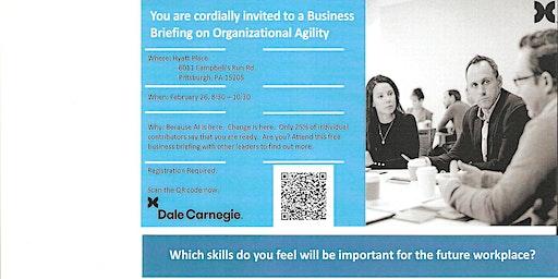 Organizational Agility Business Brief