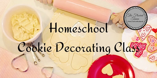 Homeschool Sugar Cookie Decorating Class  10 and Y
