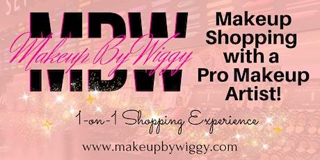 Makeup Shopping with a Pro Makeup Artist tickets