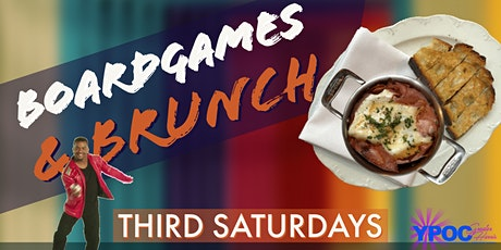 Boardgames and Brunch tickets