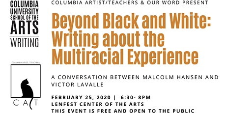 Beyond Black and White: Writing about the Multiracial Experience tickets