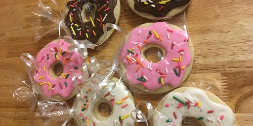 Donut DIY Cookie Decorating Party