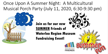 Once Upon A Summer Night:  A Multicultural Musical Porch Party tickets