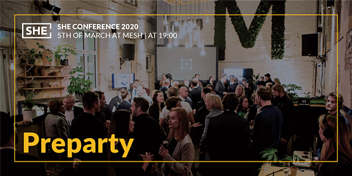 Preparty for Partners & Speakers @Mesh