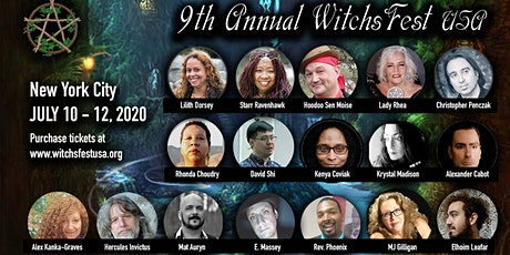 WitchsFest USA - A Pagan St. Faire tickets
