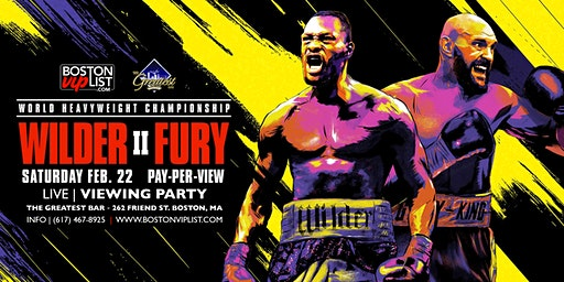 Deontay Wilder vs. Tyson Fury II | Live Viewing Party