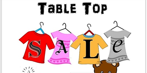 Indoor Table Top Sale & Family Fun Event