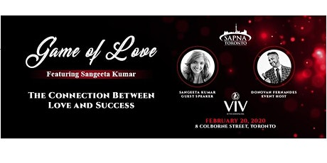 #SAPNATO's Game of Love: The Connection Between Love and Success tickets