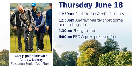 Charity Golf Day - £400 per team tickets