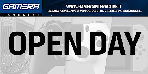 PADOVA/OPEN DAY/GAMERA GAMESLAB Corsi di Game Design e Game Production