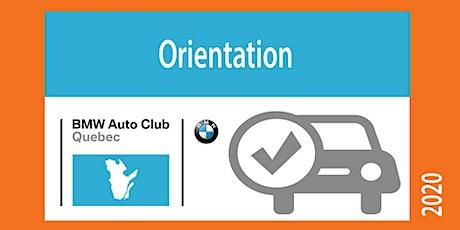 Orientation tickets