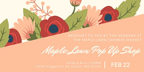Maple Lawn Pop Up Shop tickets
