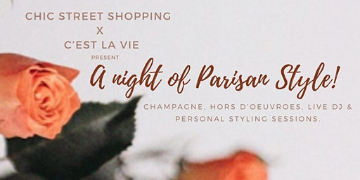 A night of Parisian Style!